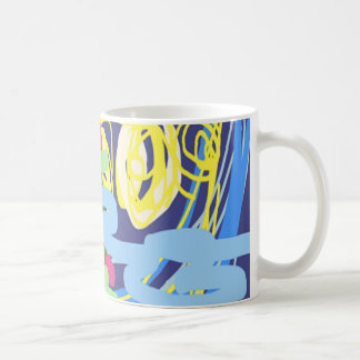 Starry Starry Flowers by Carole Tomlinson Mugs
