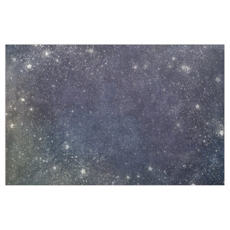 Night sky fabric for sewing quilting crafts for Starry sky fabric