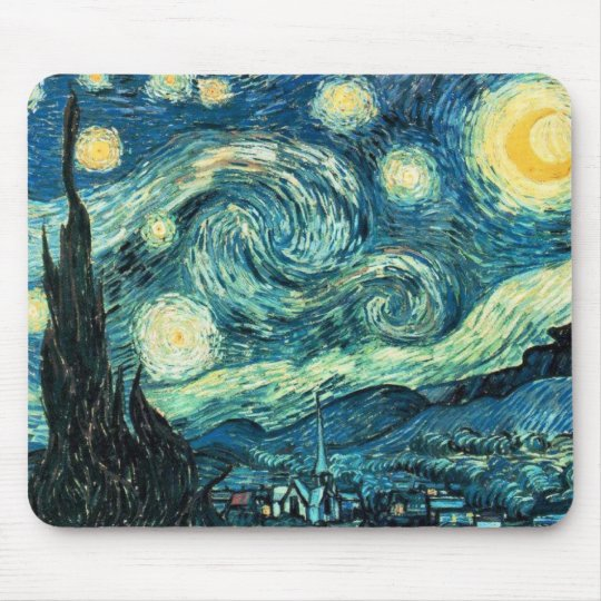 Starry Starry Night Mouse Mat