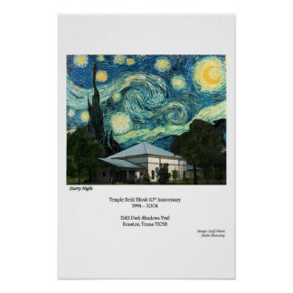 Starry Starry TBT Night Poster