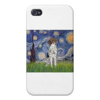Starry State - German Short Haired Pointer iPhone 4/4S Case