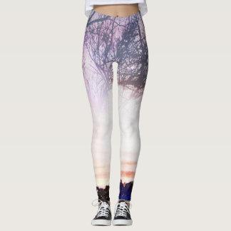 Starry sunset leggings