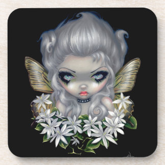 """Starry Wild Jasmine Fairy"" Coaster"