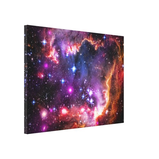 Starry Wingtip of Small Magellanic Cloud Canvas Print