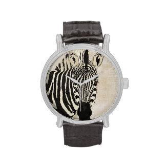 Starry Zebra Watch