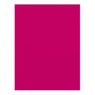 stars08-pink DARK PINK FUSCIA SOLID TEMPLATES BACK Postcard