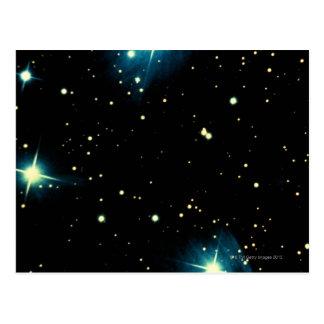 Stars 2 post card