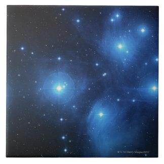 Stars 3 large square tile
