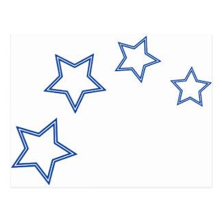 stars-5 post cards