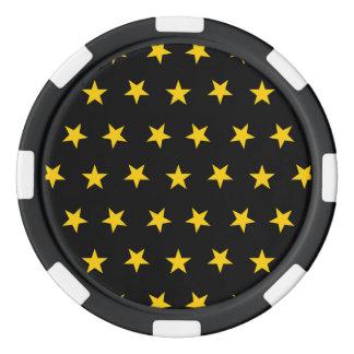 Stars 8 Freesia Set Of Poker Chips