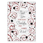 Stars Administrative Professionals Day Card