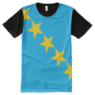 Stars All-Over Printed T-Shirt All-Over Print T-Shirt