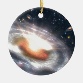 Stars and Black Holes Christmas Ornament