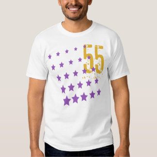 STARS AND ERODED NUMBER 55 SHIRT