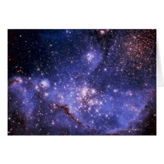 Stars and Milky Way Greeting Card