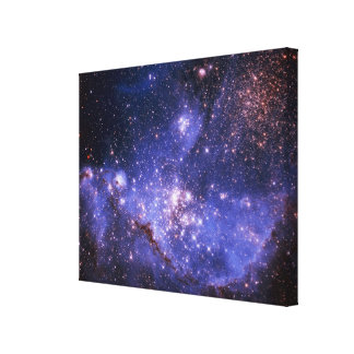 Stars and Milky Way Stretched Canvas Print