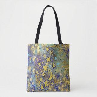 Stars and Moon Tote Bag