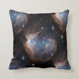 Stars and Nebulae Throw Pillow