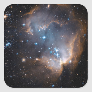 Stars and Nebulae Square Sticker