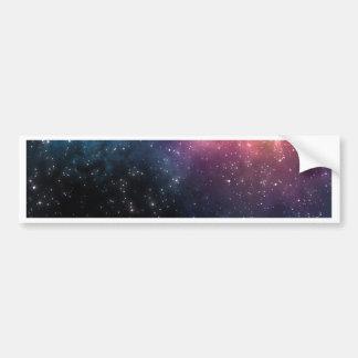 Stars and Nebulas Bumper Sticker