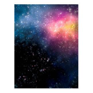 Stars and Nebulas Postcard
