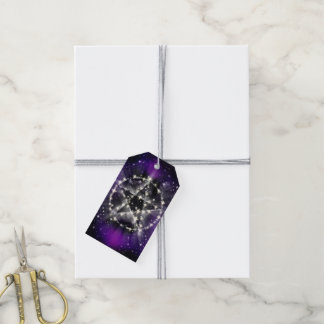 Stars and pentagram gift tags