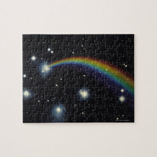 Stars and rainbow jigsaw puzzle