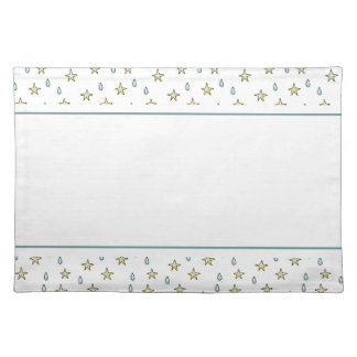 Stars and Raindrops Placemat