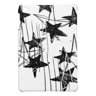 Stars and Scribbles iPad Mini Cover