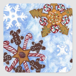 Stars and Snowflakes Stickers
