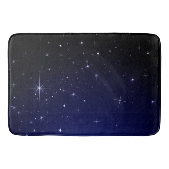STARS AND SPACE BATH MAT