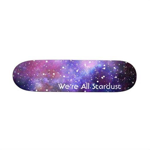 Stars and space skateboard skate boards