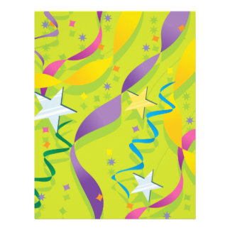 Stars and Streamers Giftware 21.5 Cm X 28 Cm Flyer