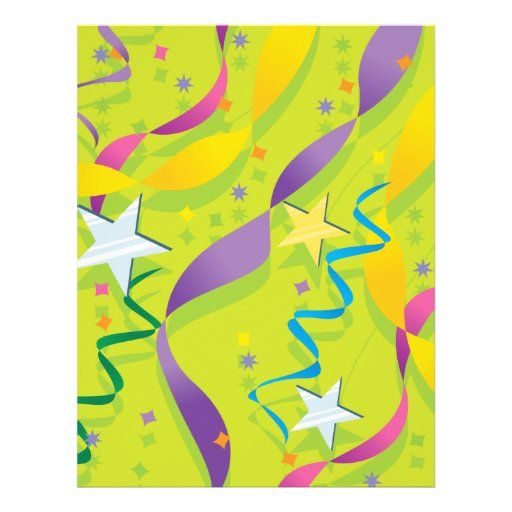 Stars and Streamers Giftware Flyers