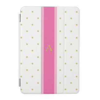 Stars and Stripe Pink iPad Mini Cover Personalized