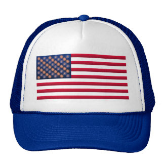 Stars and Stripes 4th of July hats