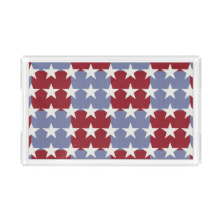 Stars and Stripes Acrylic Tray