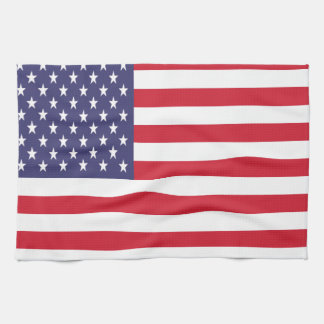 Stars and Stripes American Flag Tea Towel