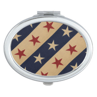 Stars and Stripes Americana Compact Mirrors
