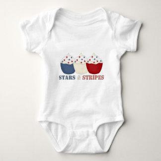 Stars and Stripes Baby Bodysuit