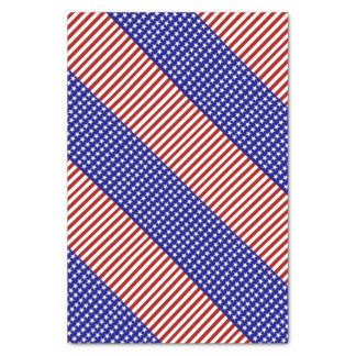 Stars and Stripes Background Tissue Paper