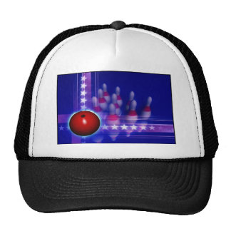 Stars and Stripes Bowling Cap