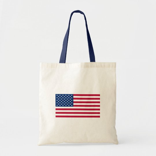 Stars and Stripes Budget Tote