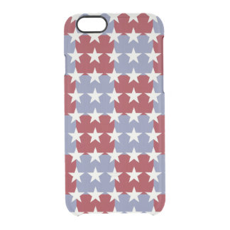 Stars and Stripes Clear iPhone 6/6S Case