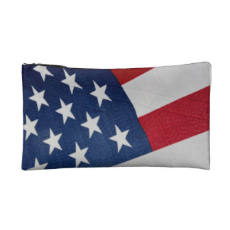 Stars and Stripes Cosmetic Bag
