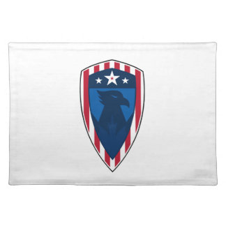 Stars and Stripes Eagle Shield Placemat