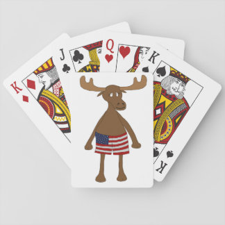 Stars and Stripes, Eh? Playing Cards