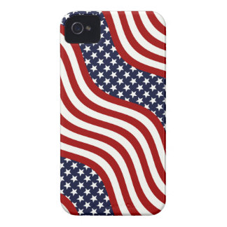 STARS AND STRIPES FOREVER! (American flag design) iPhone 4 Cover