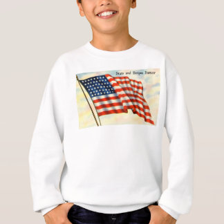 Stars and Stripes Forever American Flag Sweatshirt