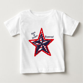Stars and Stripes Forever! Baby T-Shirt